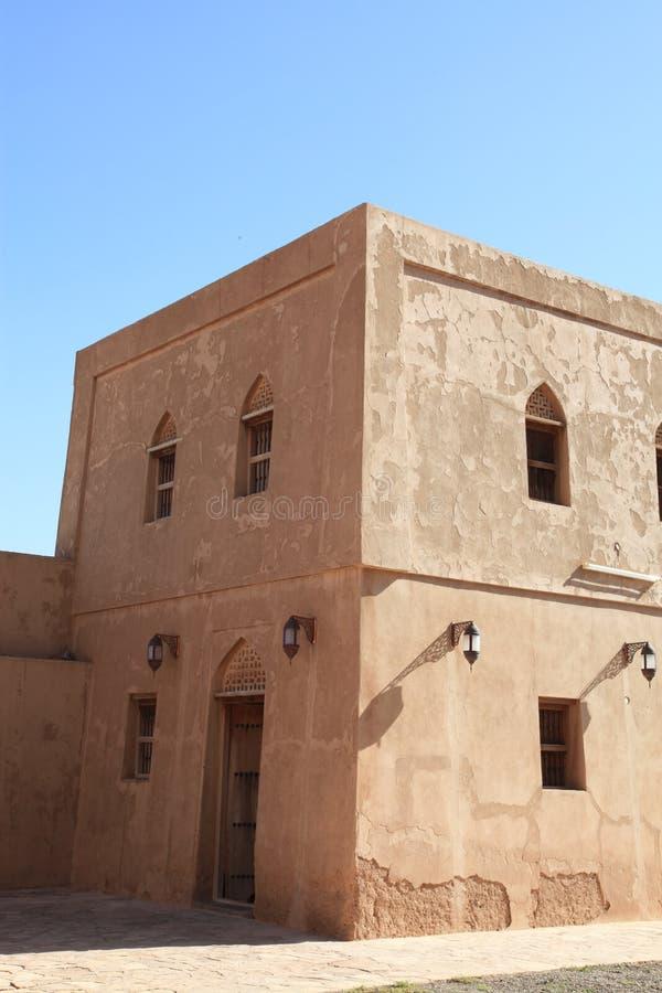 Jabrin (Jabreen) Castle in Oman royalty free stock photos