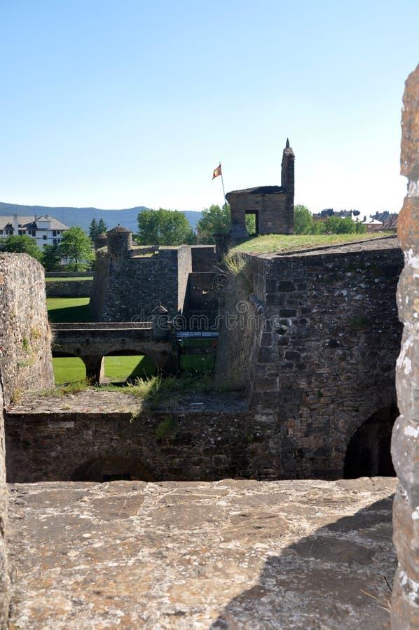 Jaca. Castillo de San Pedro San Pedro fotos de archivo