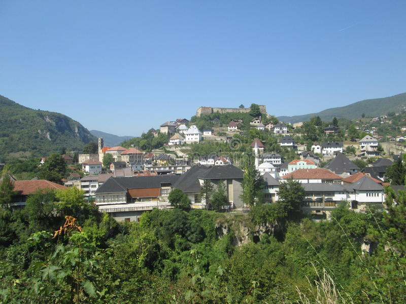 Jace - Bósnia e Herzegovina imagens de stock royalty free