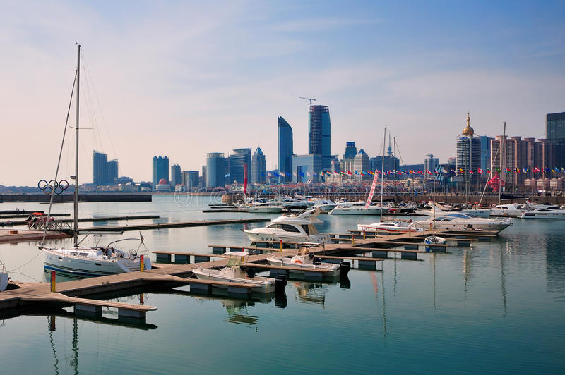Jachtów Doki, Qingdao   obrazy royalty free