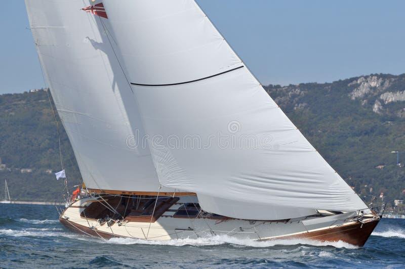 Jacht royalty-vrije stock fotografie