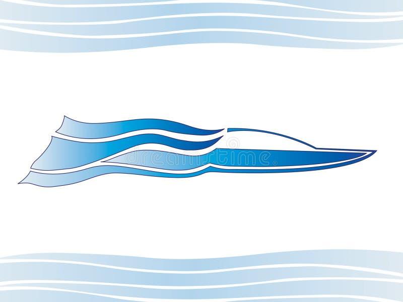 jacht ilustracja wektor