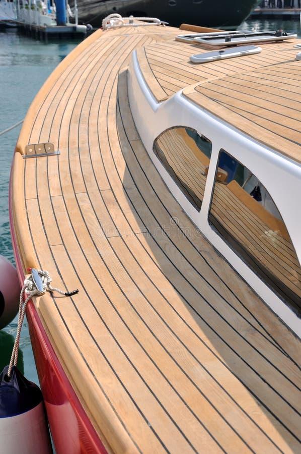 Jacht in haven royalty-vrije stock fotografie