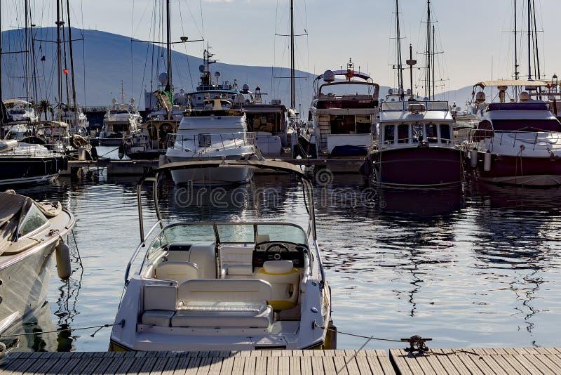 Jacht, port morski fotografia stock