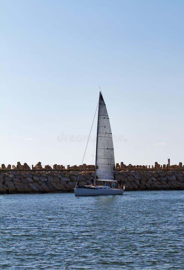 Jachten op de Middellandse Zee royalty-vrije stock fotografie
