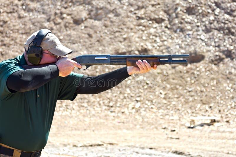 Jachtgeweer het schieten stock afbeelding