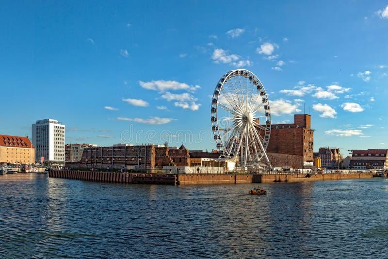 Jachthafen in Gdansk lizenzfreie stockfotografie