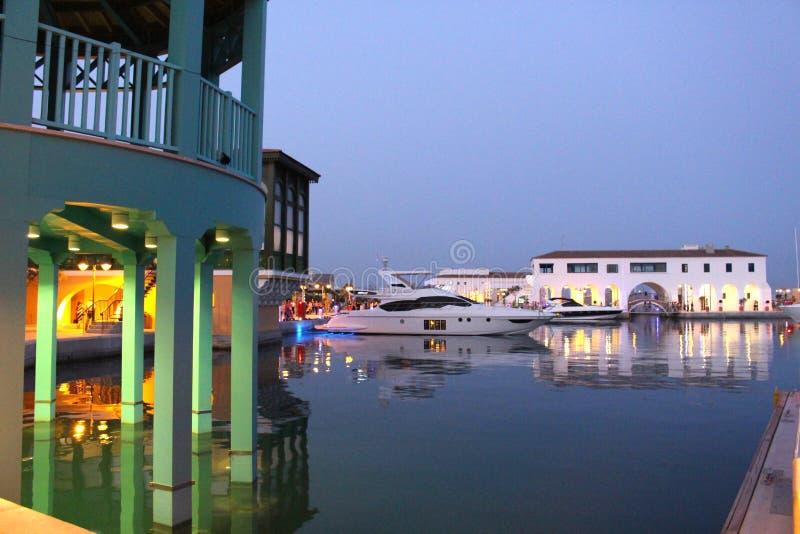 Jachthafen in Limassol lizenzfreie stockfotos