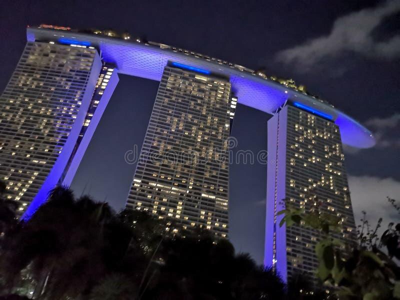 Jachthafen-Schacht-Sande, Singapur stockfoto