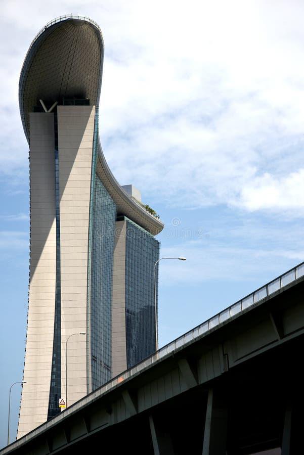 Jachthafen-Schacht, Singapur stockbild