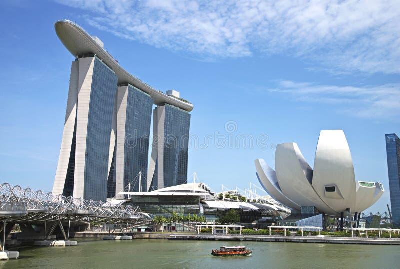 Jachthafen-Schacht, Singapur stockbilder