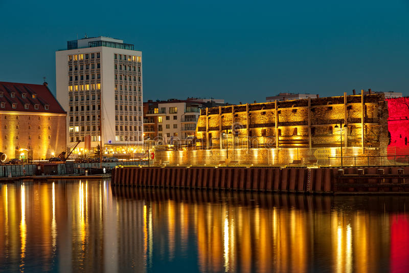Jachthafen von Gdansk stockbilder
