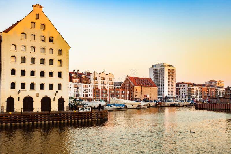 Jachthafen von Gdansk lizenzfreie stockfotografie