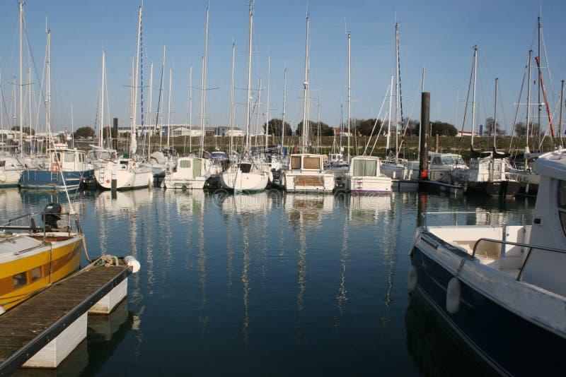Jachthaven royalty-vrije stock afbeeldingen