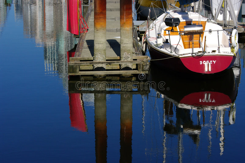 Jachthaven stock fotografie