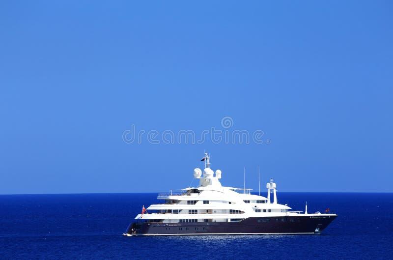 Jachting na morzu śródziemnomorskim fotografia stock