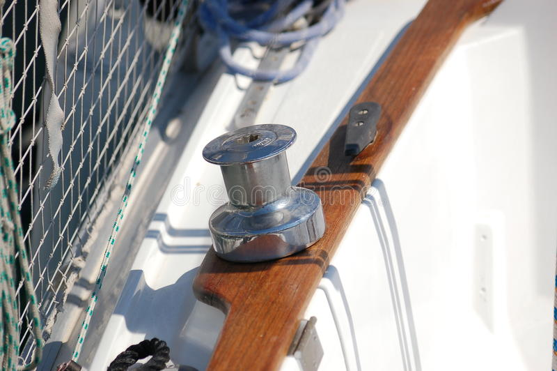 Jachtkruk stock fotografie