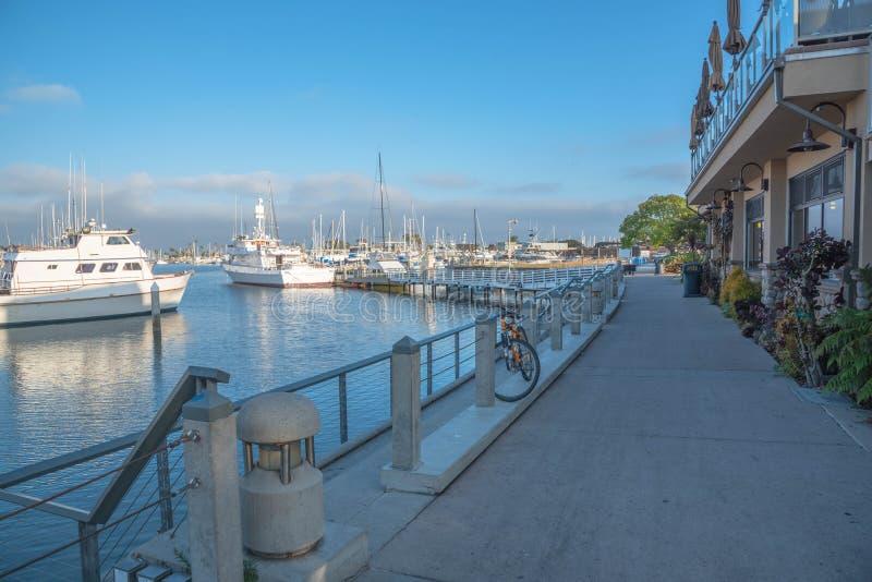 Jachtu klub w San Diego fotografia stock