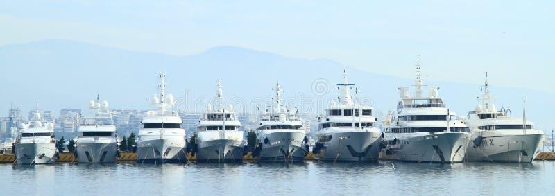 Jachty w Ateny zdjęcia stock