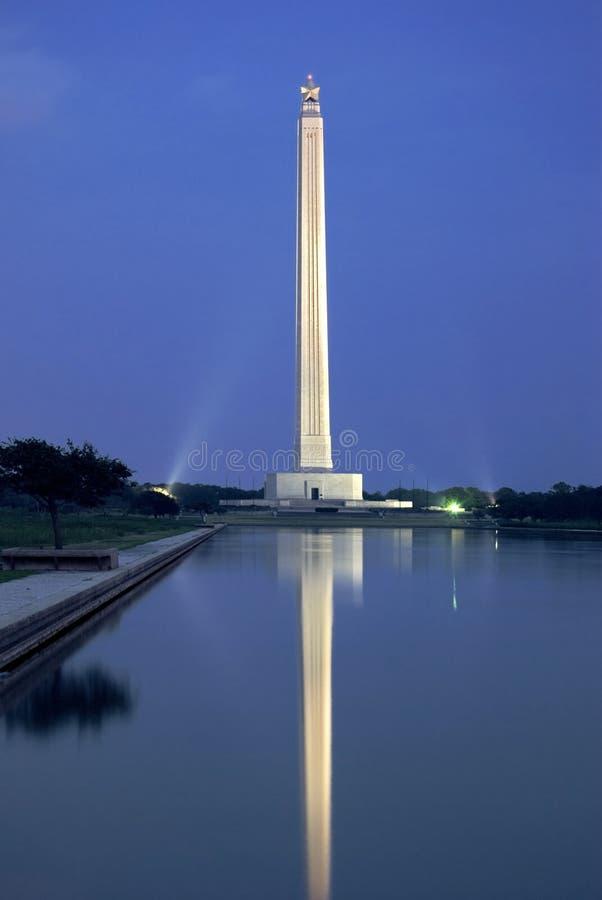 jacinto освещает ночу san стоковое изображение rf