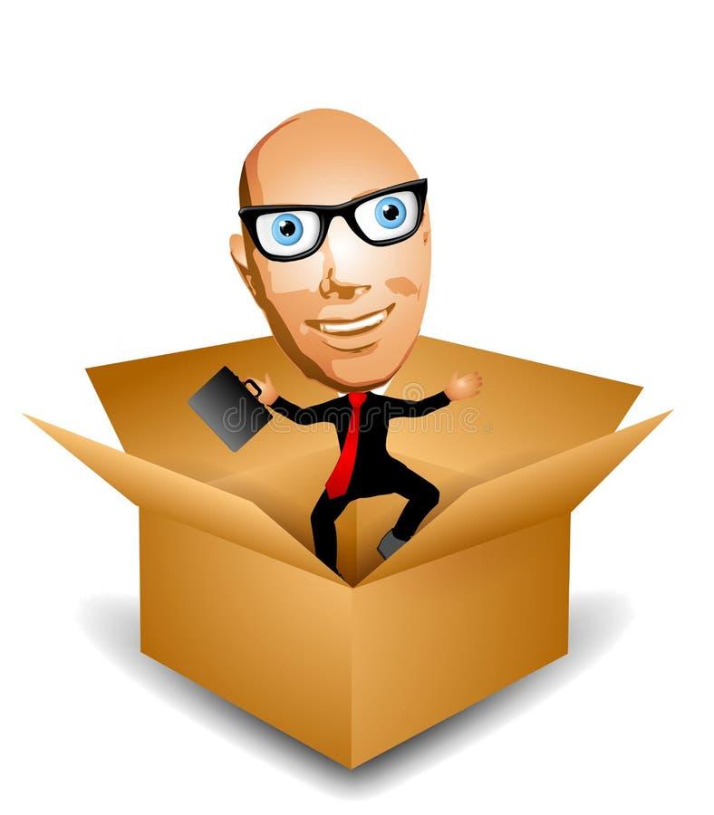jack коробки иллюстрация вектора