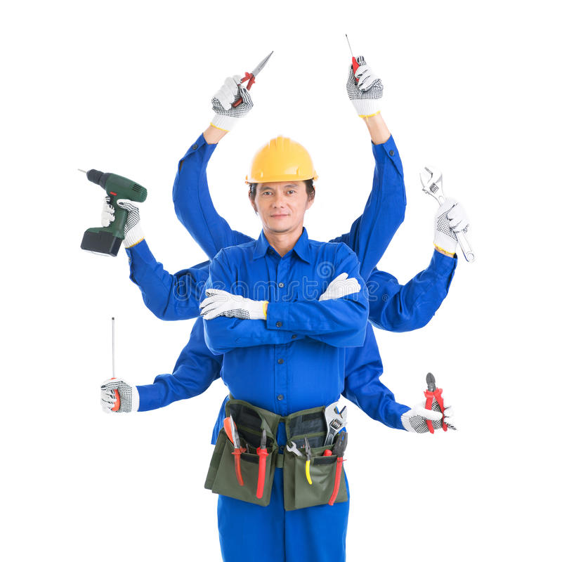 Download Jack of all trades stock photo. Image of concept, mature - 28928764