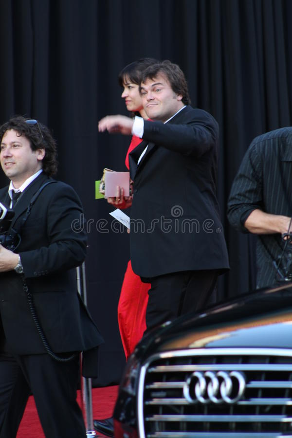 Download Jack Black editorial stock photo. Image of television - 20251378