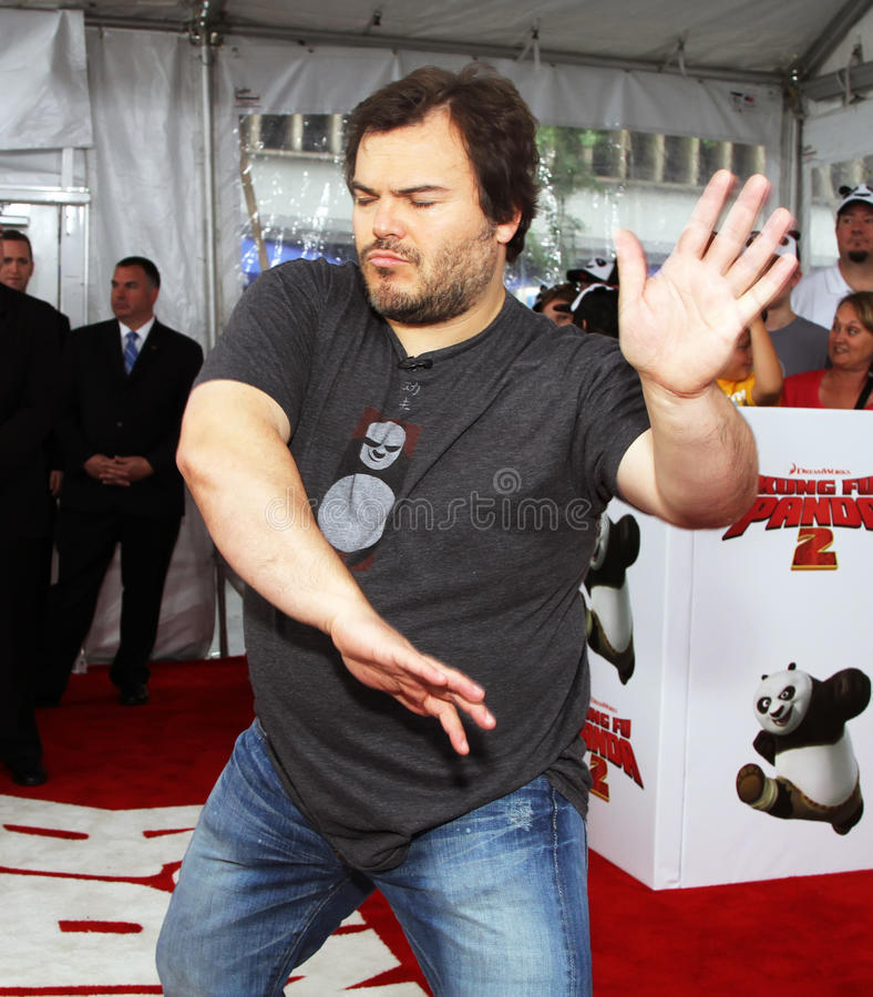 Jack Black images libres de droits