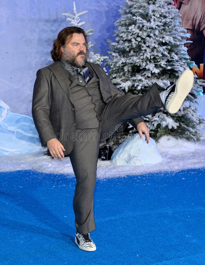 Jack Black. LOS ANGELES, USA. December 10, 2019: Jack Black at the world premiere of Jumanji: The Next Level at the TCL Chinese Theatre..Picture: Paul Smith/ royalty free stock images