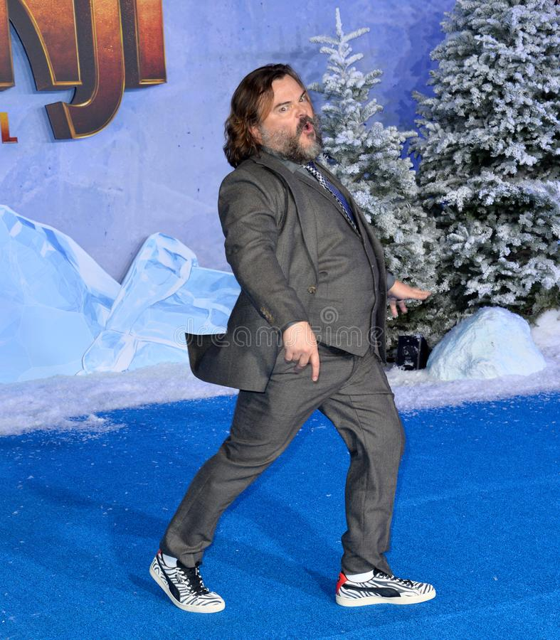 Jack Black. LOS ANGELES, USA. December 10, 2019: Jack Black at the world premiere of Jumanji: The Next Level at the TCL Chinese Theatre..Picture: Paul Smith/ stock photography