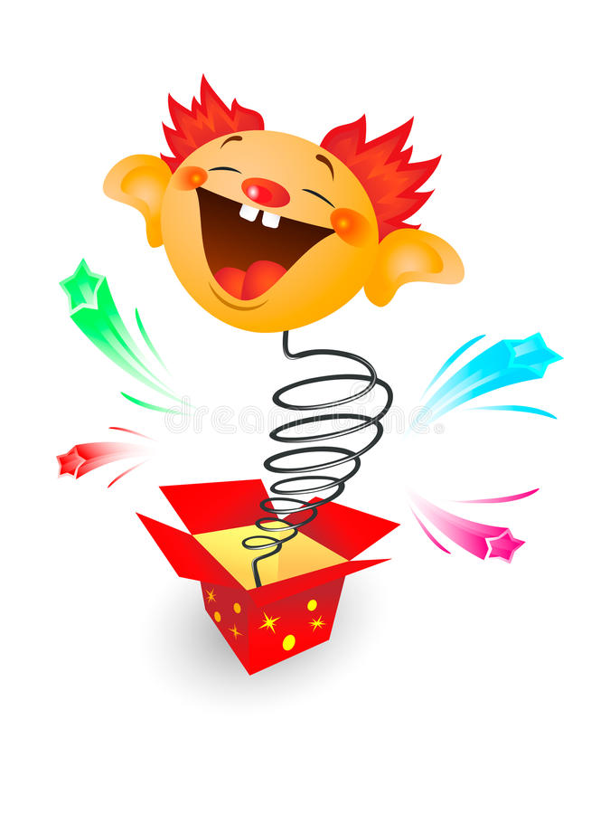 Jack-in-the- Box Royalty Free Stock Images