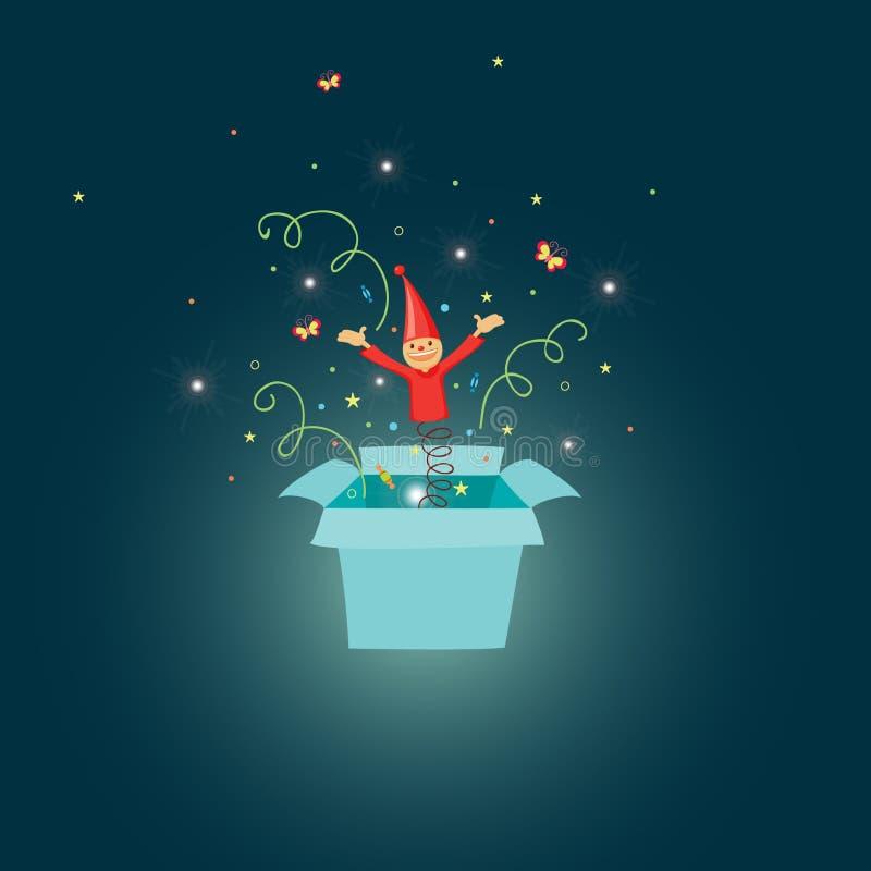 Jack In The Box ilustración del vector