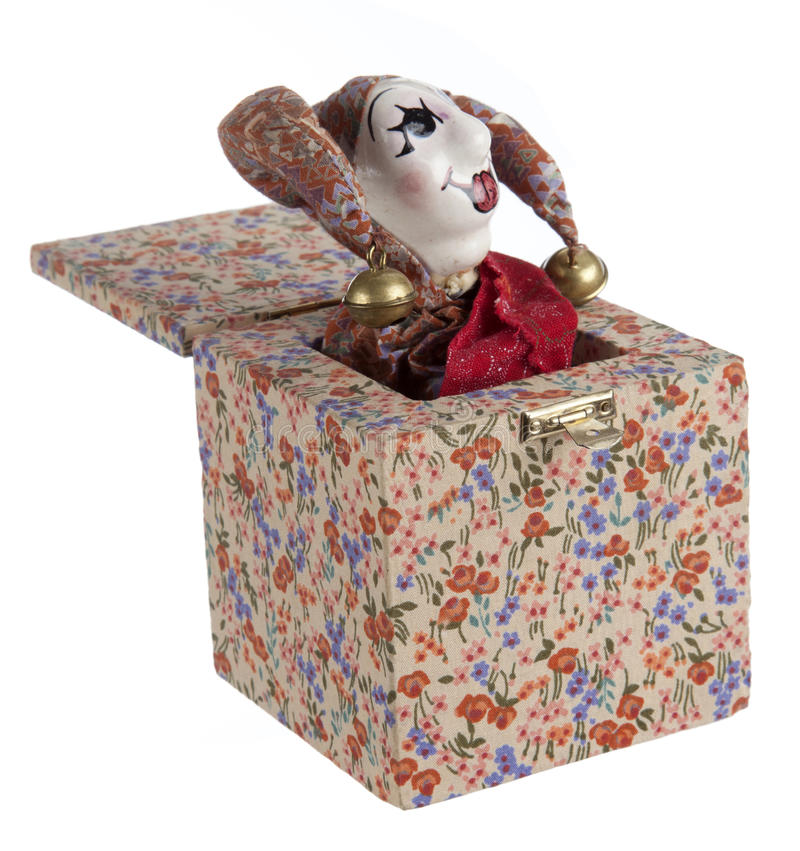 Jack-in-the-box Toy Stock Photography