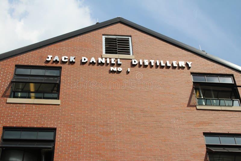 Jack Daniel destylarnia obraz royalty free