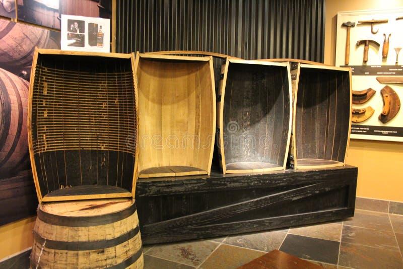 Jack Daniel destylarnia zdjęcia royalty free
