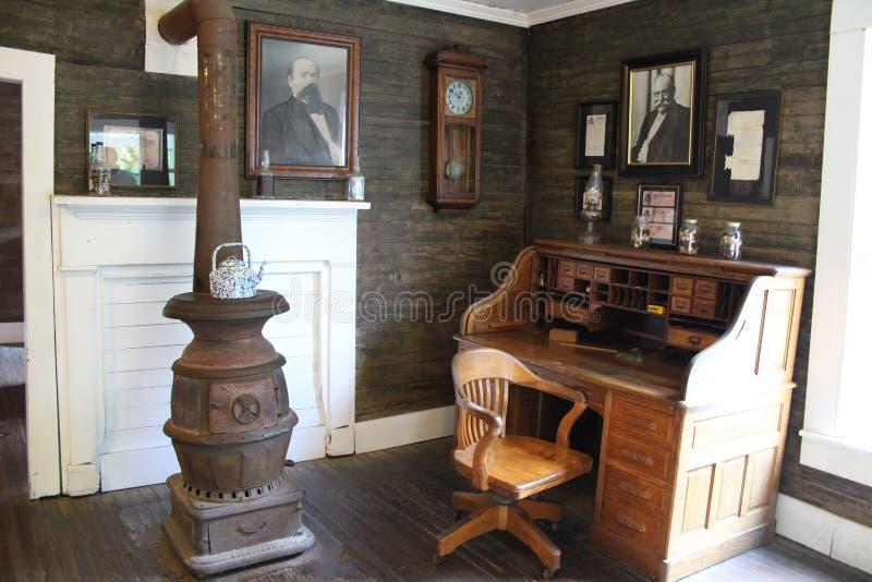 Jack Daniel destylarnia - biuro zdjęcia royalty free