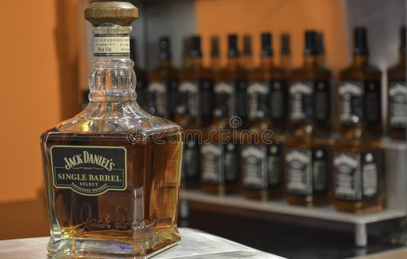 Jack Daniel`s Whiskey royalty free stock images