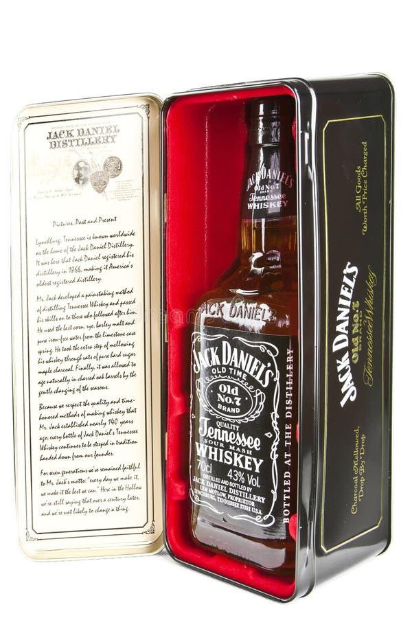 Jack Daniels foto de archivo libre de regalías