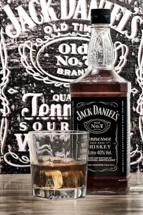Jack Daniels foto de archivo