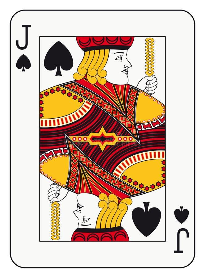 Jack das pás ilustração royalty free