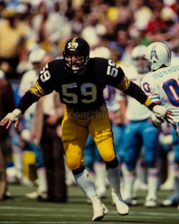 Jack Ham Pittsburgh Steelers imágenes de archivo libres de regalías