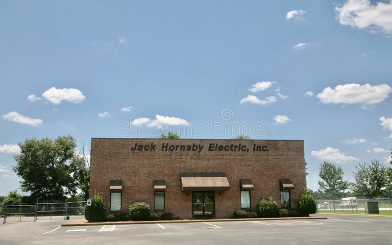 Jack Hornsby Electric Inc royaltyfri foto