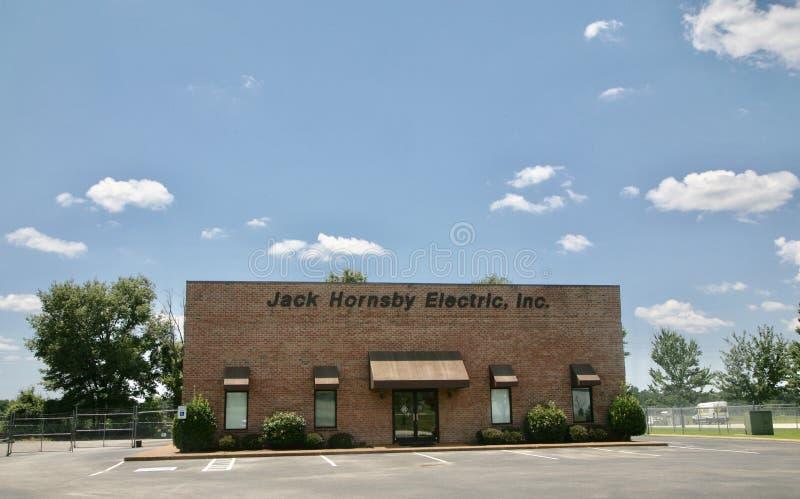 Jack Hornsby Electric, N.v. royalty-vrije stock foto