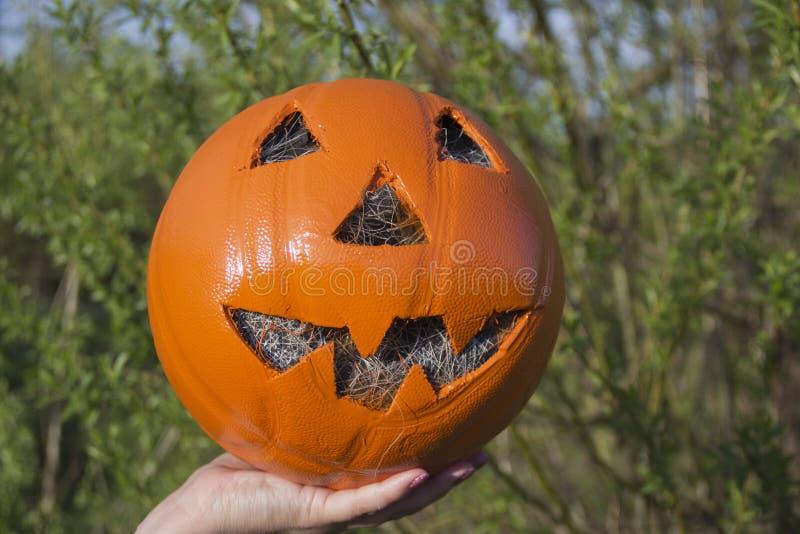 Jack Lantern voor Halloween stock fotografie