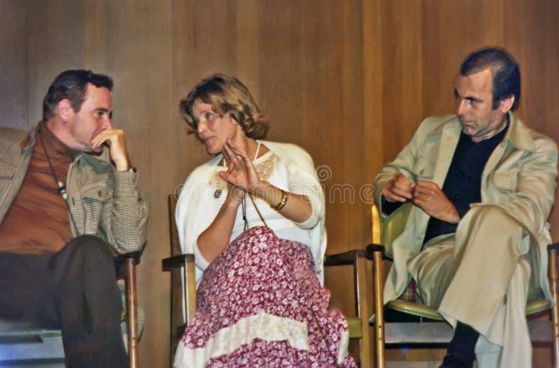 Jack Lemmon, Maria Schell i Maximilian Schell, zdjęcia stock