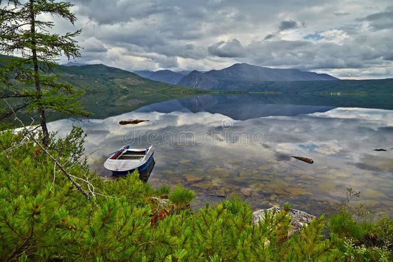 Download Jack London's Lake. Summer, Reflexions, Boat Stock Photo - Image: 62984410