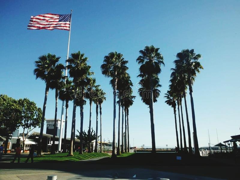Jack London square royalty free stock images
