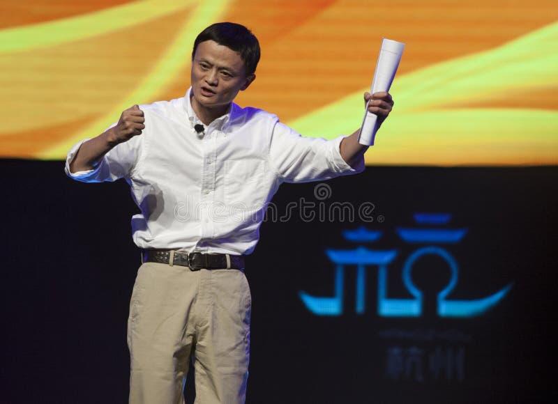 Jack Ma Alibaba στοκ εικόνες με δικαίωμα ελεύθερης χρήσης