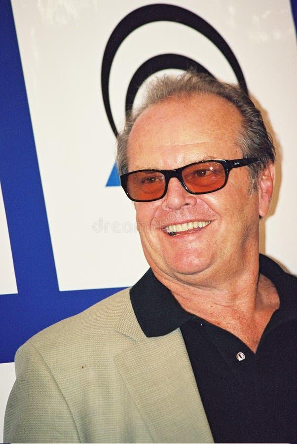 Jack Nicholson fotografia stock libera da diritti