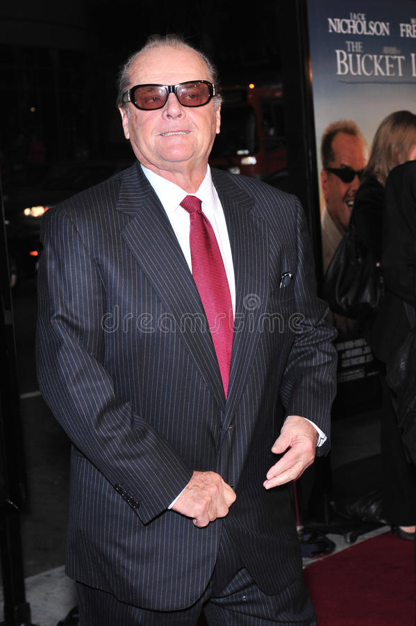 Download Jack Nicholson editorial stock image. Image of smith - 24727224